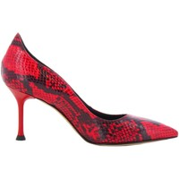 Schoenen Dames pumps Sgn Giancarlo Paoli SNAKE ROSSO Rood