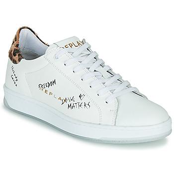 Schoenen Dames Lage sneakers Replay MELANIA Wit