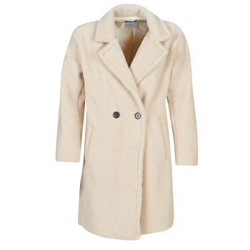 Textiel Dames Mantel jassen Betty London  Beige