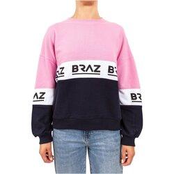Textiel Dames Sweaters / Sweatshirts Braz 120972TSH Roze