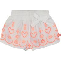 Textiel Meisjes Korte broeken / Bermuda's Billieblush / Billybandit NEYO Wit