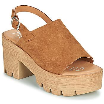 Schoenen Dames Sandalen / Open schoenen Musse & Cloud TAIKI Cognac