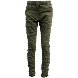 Textiel Dames Skinny jeans By La Vitrine Jeans kaki B3021-VB Groen