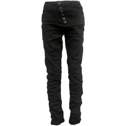 Textiel Dames Skinny jeans By La Vitrine Jeans noir B3021-H Zwart