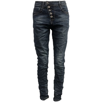 Textiel Dames Skinny jeans By La Vitrine Jeans bleu B3021-N Blauw