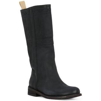 Schoenen Dames Hoge laarzen Felmini BLACK CRONO Nero