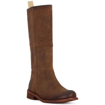 Schoenen Dames Hoge laarzen Felmini CUOIO CRONO Marrone