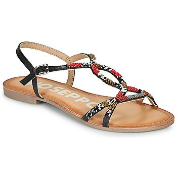 Schoenen Dames Sandalen / Open schoenen Gioseppo PARISH Zwart / Rood