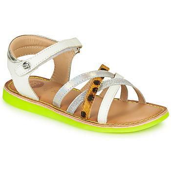 Schoenen Meisjes Sandalen / Open schoenen Gioseppo STAGGIA Wit / Geel