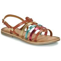 Schoenen Meisjes Sandalen / Open schoenen Gioseppo ETALLE Cognac / Multi