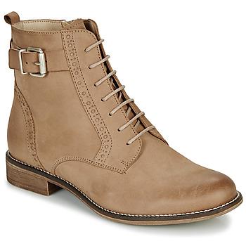 Schoenen Dames Laarzen André CHEPTELA Camel