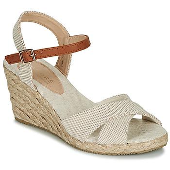 Schoenen Dames Sandalen / Open schoenen André PAULETTA Beige