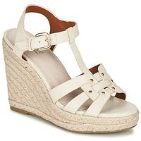 Schoenen Dames Sandalen / Open schoenen André PERLINE Wit