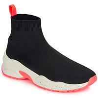 Schoenen Dames Hoge sneakers André HARUNA Zwart