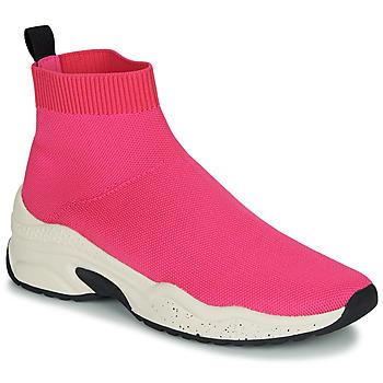Schoenen Dames Hoge sneakers André HARUNA Roze