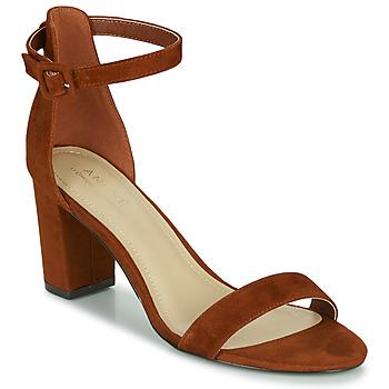Schoenen Dames Sandalen / Open schoenen André BERTILLE Bruin