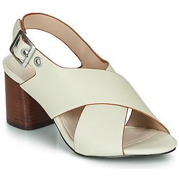 Schoenen Dames Sandalen / Open schoenen André JANNINE Beige