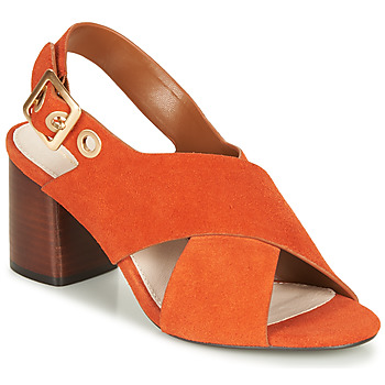 Schoenen Dames Sandalen / Open schoenen André JANNINE Oranje