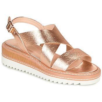 Schoenen Dames Sandalen / Open schoenen André EULALIE Goud