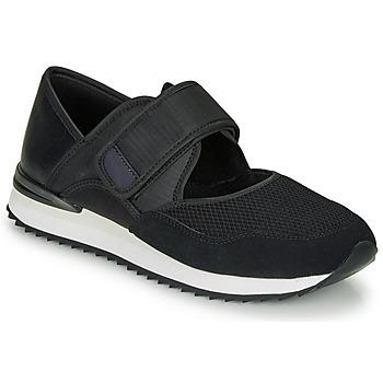 Schoenen Dames Lage sneakers André HISAYA Zwart