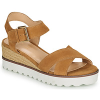 Schoenen Dames Sandalen / Open schoenen André EMILIA Camel
