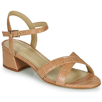 Schoenen Dames Sandalen / Open schoenen André VICTORIA Nude