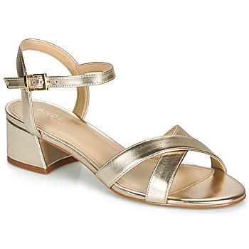 Schoenen Dames Sandalen / Open schoenen André VICTORIA Goud