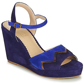 Schoenen Dames Sandalen / Open schoenen André LA JONGLEUSE Blauw