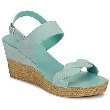 Schoenen Dames Sandalen / Open schoenen André ELOISE Blauw