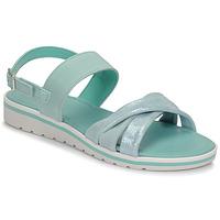 Schoenen Dames Sandalen / Open schoenen André POLINE Blauw