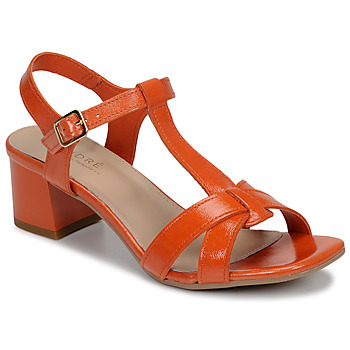 Schoenen Dames Sandalen / Open schoenen André JOSEPHINE Oranje