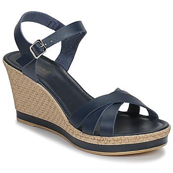 Schoenen Dames Sandalen / Open schoenen André MYRIAM Blauw