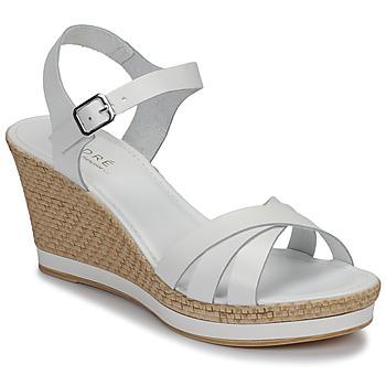 Schoenen Dames Sandalen / Open schoenen André MYRIAM Wit