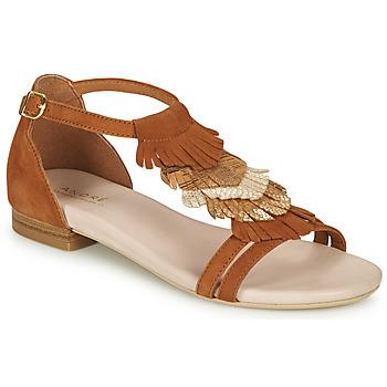 Schoenen Dames Sandalen / Open schoenen André BRIANA Camel