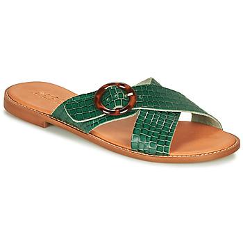 Schoenen Dames Sandalen / Open schoenen André BRAIDY Groen