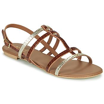 Schoenen Dames Sandalen / Open schoenen André MANDIE Camel