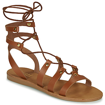 Schoenen Dames Sandalen / Open schoenen André BEA Camel