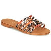 Schoenen Dames Sandalen / Open schoenen André BRAIDINE Oranje