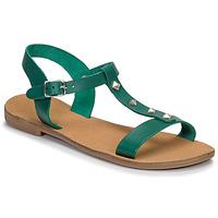 Schoenen Dames Sandalen / Open schoenen André DOMINOU Groen