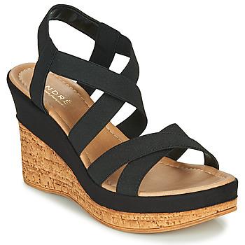 Schoenen Dames Sandalen / Open schoenen André BEE Zwart