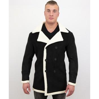 Textiel Heren Parka jassen Tony Backer Imitatie Bontjas Parka - Lammy Coat - Grijs