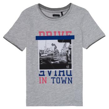 Textiel Meisjes T-shirts korte mouwen Ikks AMELIE Grijs / Gevlekt