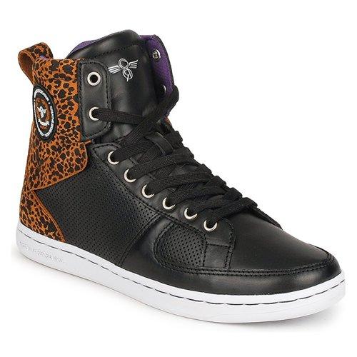 Schoenen Dames Hoge sneakers Creative Recreation W SOLANO Zwart