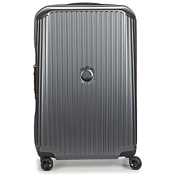 Tassen Valise Rigide Delsey SECURITIME ZIP 68 CM 4 DOUBLE WHEELS Grijs