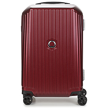 Tassen Valise Rigide Delsey SECURITIME FRAME 55 CM DOUBLE WHEELS CABIN Rood
