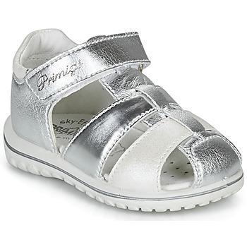 Schoenen Meisjes Sandalen / Open schoenen Primigi 5365555 Zilver