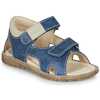 Schoenen Jongens Sandalen / Open schoenen Primigi 5410222 Blauw / Grijs