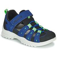 Schoenen Kinderen Outdoorsandalen Primigi 5371822 Blauw / Zwart