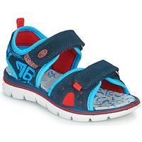 Schoenen Jongens Sandalen / Open schoenen Primigi 5392822 Marine / Blauw / Rood