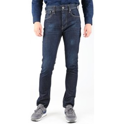 Textiel Heren Skinny jeans Guess Edison M14R95D0HN1 WOOB navy